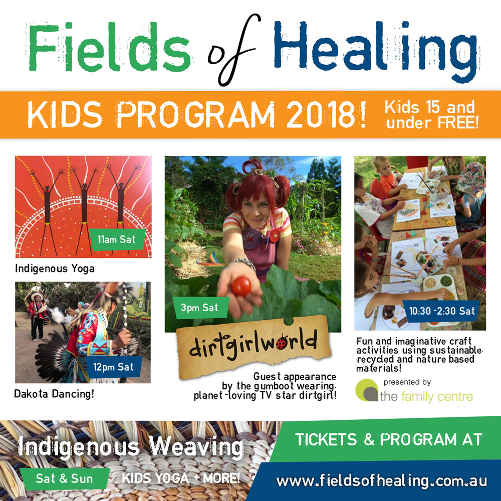 Fields of Healing Kids Program 2018